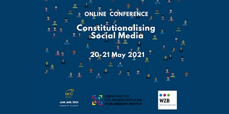 Constitutionalising Social Media Conference tickets