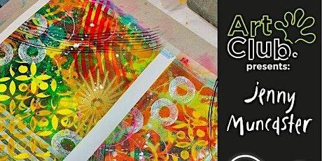 Artgecko Sketch X Jenny Muncaster - Abstract Acrylics Workshop tickets