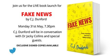 Book Launch: Fake News by C.J. Dunford tickets