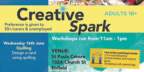 Creative Spark Quilling Workshop tickets
