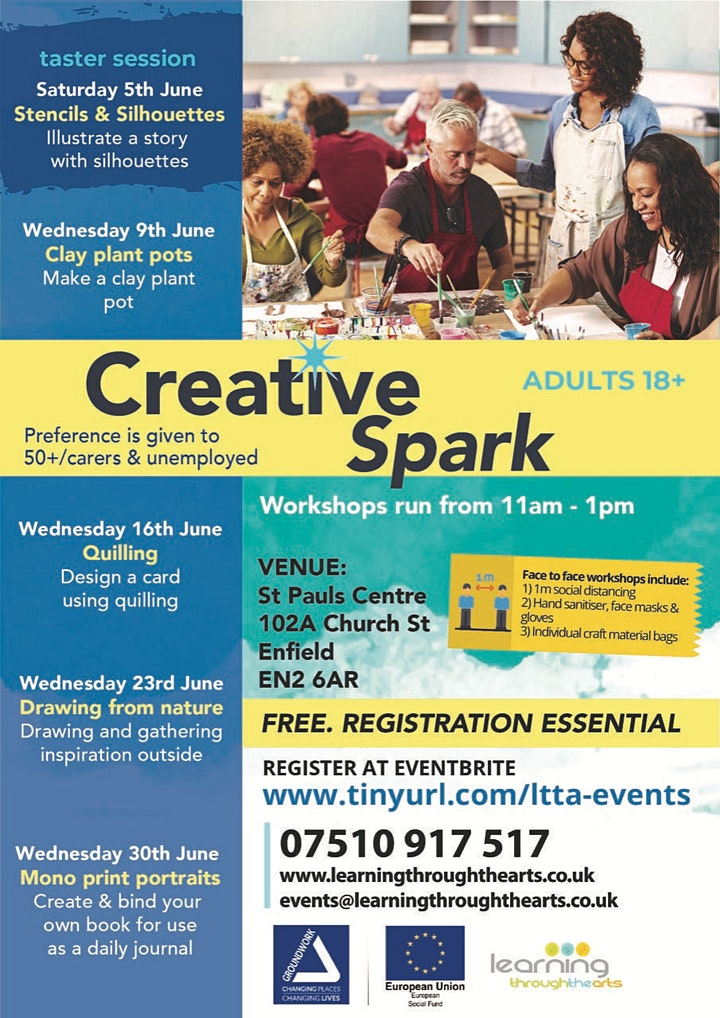 Creative Spark Enfield: QUILLING image