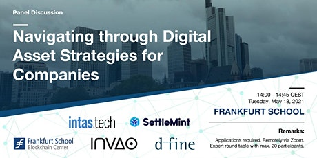 Panel Discussion: Navigating through Digital Asset Strategies for Companies tickets