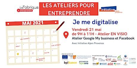 Atelier Google My Business et Facebook tickets