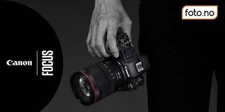 Canon EOS R5 innføring tickets