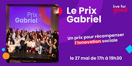 Grande Soirée du Prix Gabriel 2021 tickets