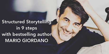 Structured Storytelling with bestseller-writer Mario Giordano (in English) Tickets