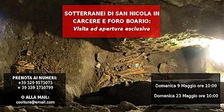 Sotterranei di San Nicola e Foro Boario: visita ad apertura esclusiva tickets