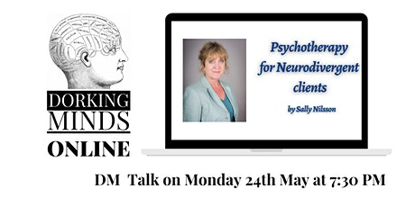 Psychotherapy for Neurodivergent clients - it's not rocket science! tickets
