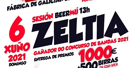 Zeltia no Rock Artesán do Río Tea entradas