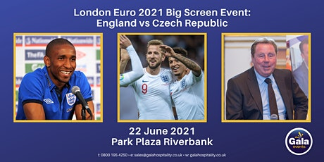 London Euro 2021 Big Screen Event: England vs Czech Republic tickets