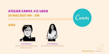 Atelier Canva #2: Logo billets