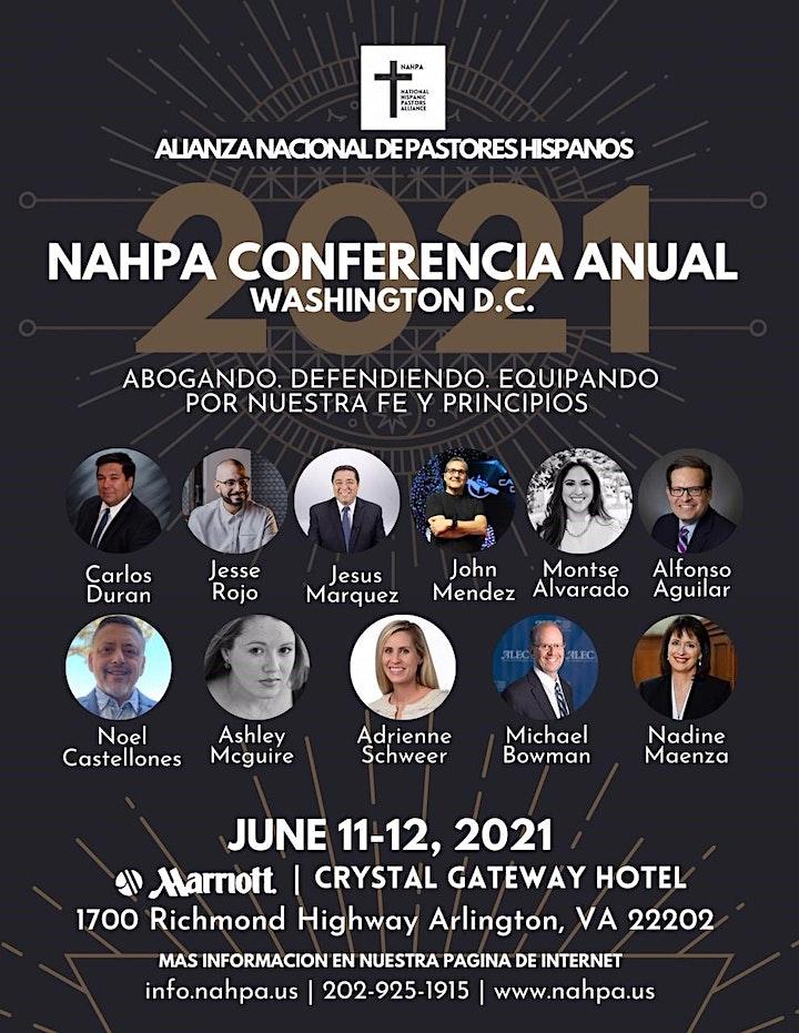 NAHPA 2021 National Conference. June 11-12 Washington DC image