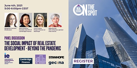 The Social Impact of Real Estate Development - Beyond the Pandemic tickets