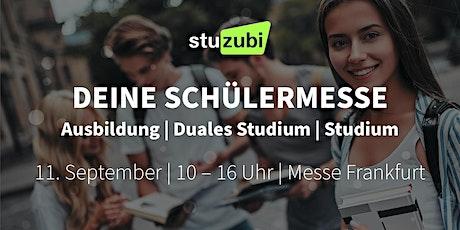 Stuzubi Frankfurt - Karrieremesse zur Berufsorientierung tickets