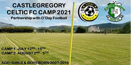 Castlegregory Celtic FC Soccer Camp,Kerry tickets