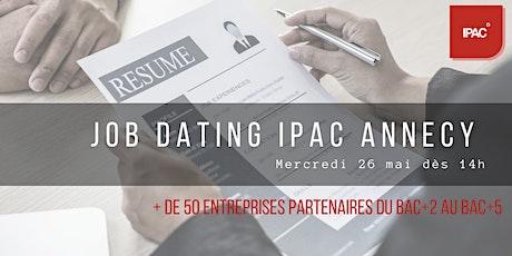 #Job Dating du 26 mai au sein de l'IPAC d'Annecy / décroche ton alternance tickets