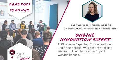 Media Lab Ansbach - Innovation Expert mit Sara Geisler Tickets