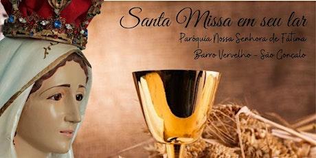 7º DIA DA NOVENA  com a  SANTA MISSA - SEGUNDA-FEIRA 10/05/2021 - ÀS  19H ingressos