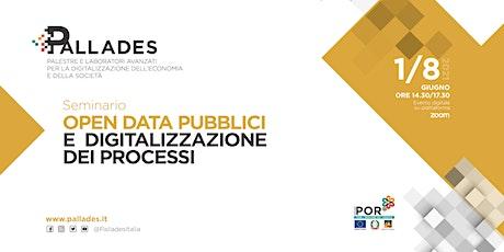 Open data pubblici e digitalizzazione dei processi biglietti