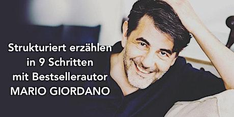 Strukturiert erzählen mit Mario Giordano Tickets