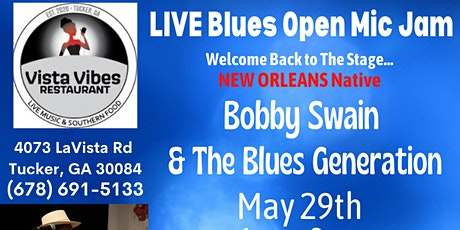 LIVE Blues! Open Mic Jam!  Bobby Swain &  Atlanta Blues Society Friends tickets