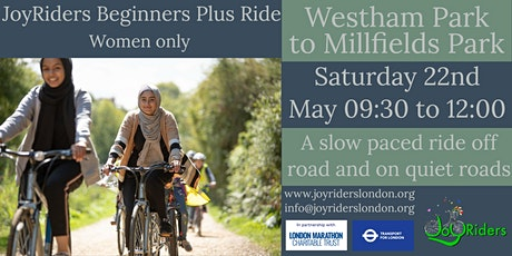 Beginners Plus Ride: West Ham Park (Newham) to Millfields Park tickets