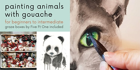 Painting Animals with Gouache tickets