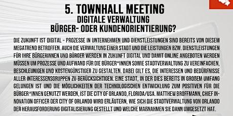 """Townhallmeeting """"Digitale Verwaltung - Bürger- oder Kundenorientierung"""" Tickets"""