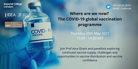 Where are we now? The COVID-19 global vaccination programme tickets