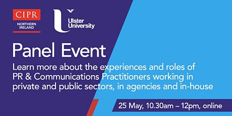 CIPR Northern Ireland & Ulster University Panel Event tickets