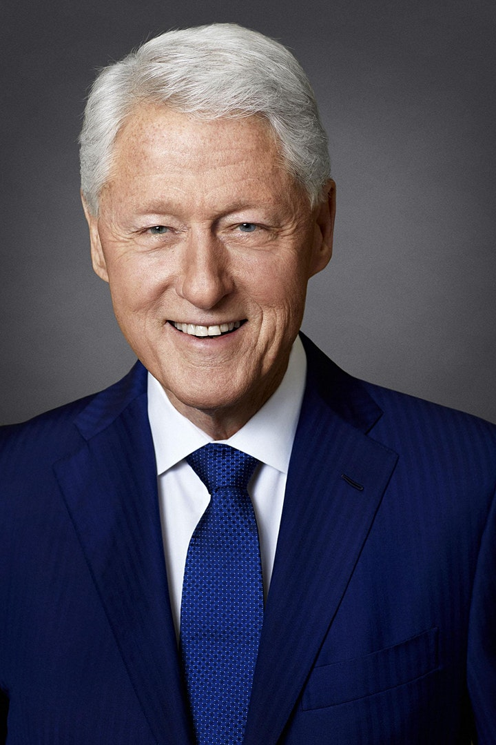 President Bill Clinton and James Patterson discuss THE PRESIDENT'S DAUGHTER image