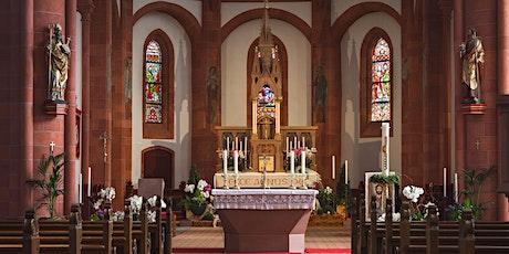 Hl. Messe am 22.05.2021 Tickets