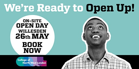 Open Day at College of North West London tickets