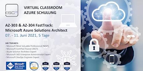Schulung Microsoft Azure Solutions Architect (AZ-303 & AZ-304 FastTrack) tickets