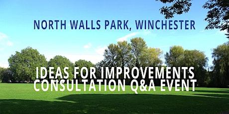 North Walls Park - Public Consultation tickets