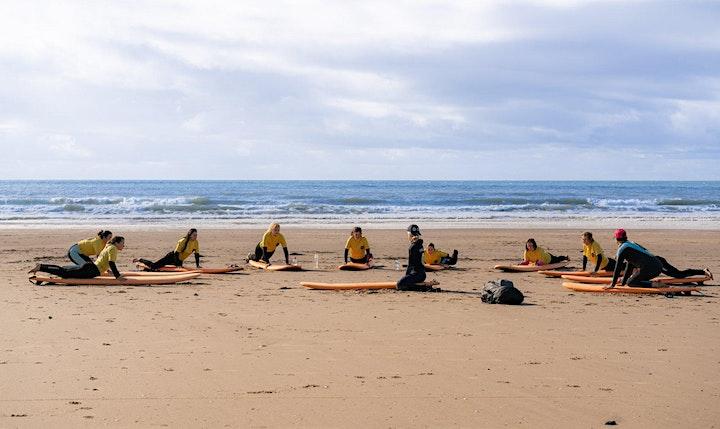 Women's Beginner Surf Session in Gower image