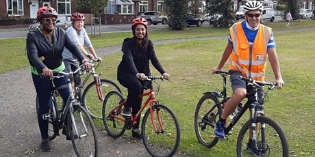 Free adult learn to ride and confidence building cycling lessons tickets