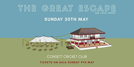 Bank Holiday Sunday featuring The Great Escape tickets