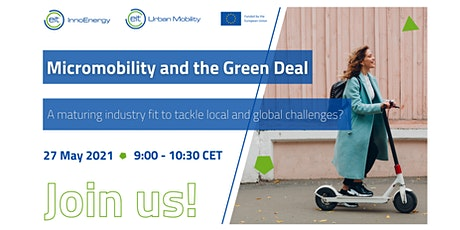 Micromobility and the Green Deal tickets