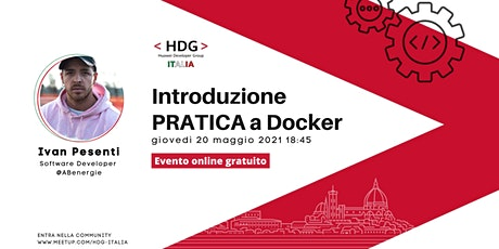 Introduzione PRATICA a Docker・Meetup HDG Italia #4 tickets