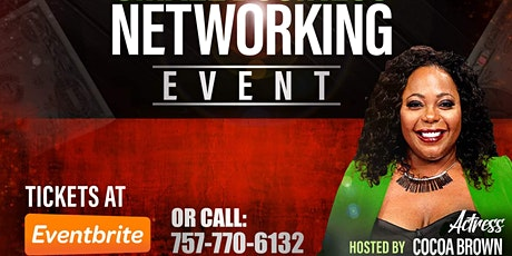 Hollywood Actress Cocoa Brown Virtual Small Business Networking Event. tickets