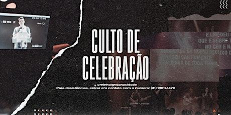 CULTO DE CELEBRAÇÃO - CAMPUS RIBEIRÃO DAS NEVES | 10H00 ingressos