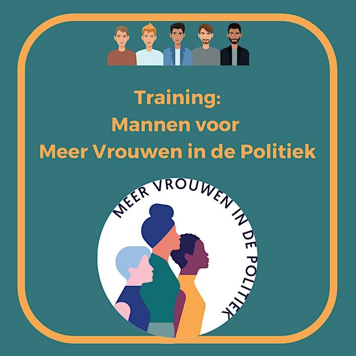 Afbeelding van Training: Mannen voor Meer Vrouwen in de Politiek