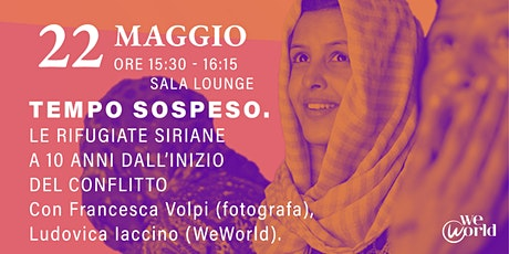 WeWorld Festival - Tempo Sospeso biglietti