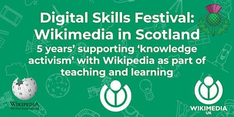 Digital Skills Festival: Wikimedia in Scotland event tickets