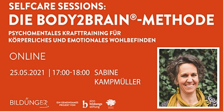 Selfcare Session: Die Body2Brain®-Methode Tickets