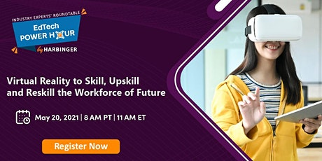 Virtual Reality to Skill, Upskill and Reskill the Workforce of Future Tickets