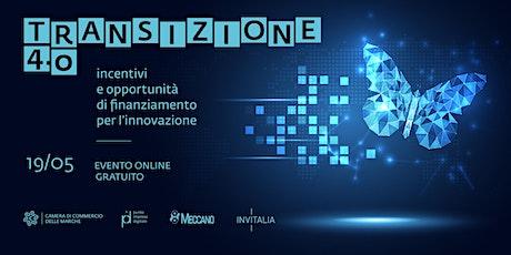 Transizione 4.0: incentivi e opportunità di finanziamento per l'innovazione biglietti