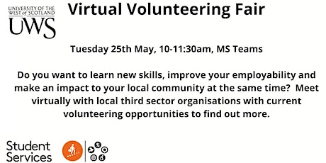 Virtual Volunteering Fair 2021 tickets