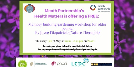 Memory building gardening for older people tickets